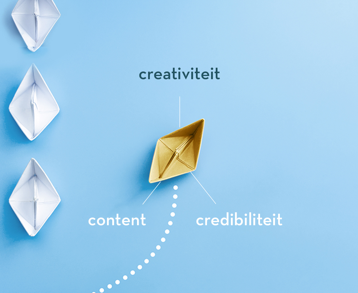 creativity, credibility and content